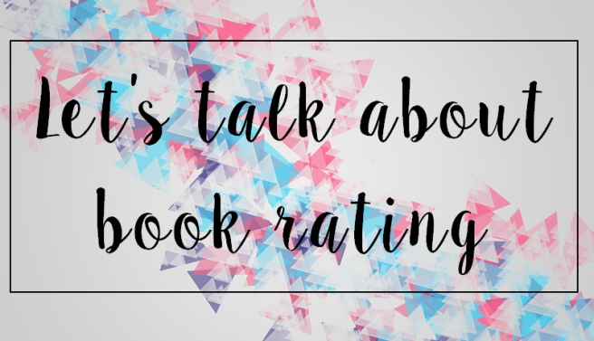 let's talk about book rating